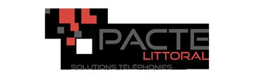 Logo 1pacte Littoral - Solutions téléphonies